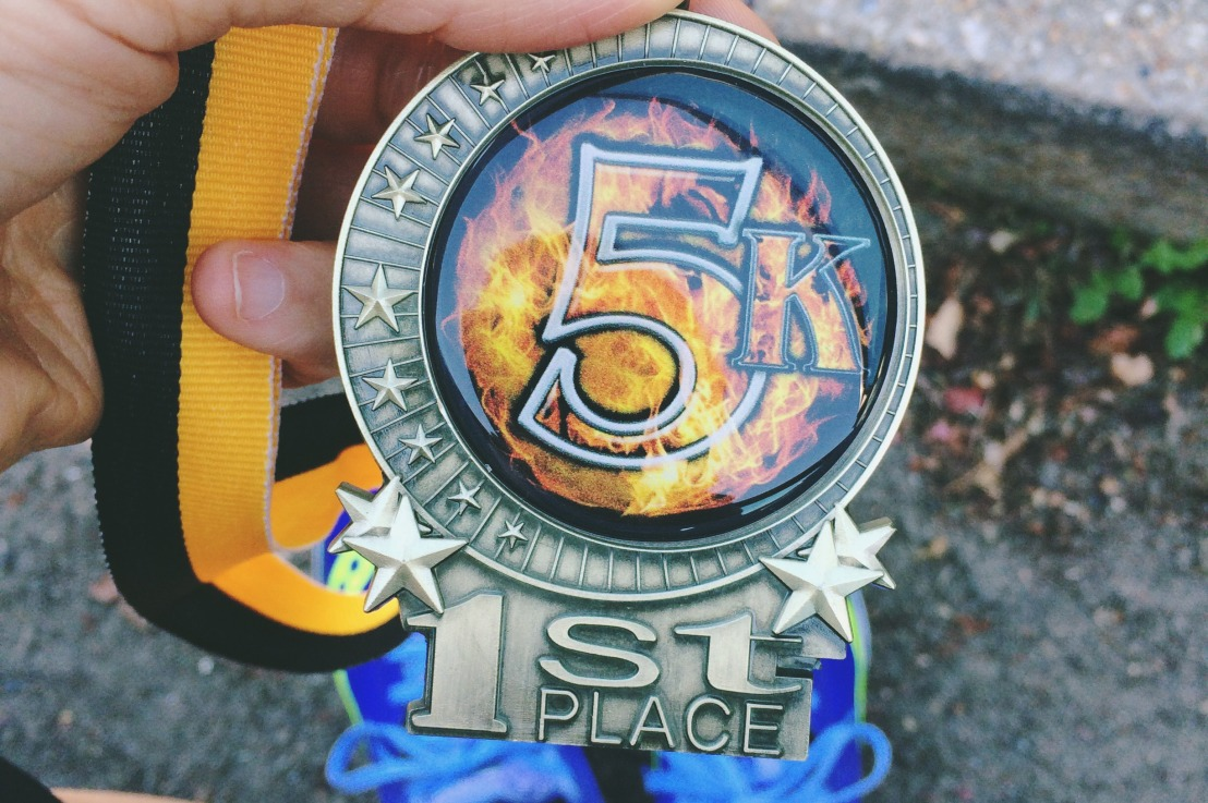 I'm Coming For You, Sevens: Greenlawn Fire Dept. Halloween 5K Race Recap