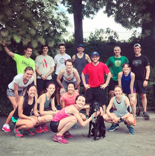 harriers workout 6-20-18