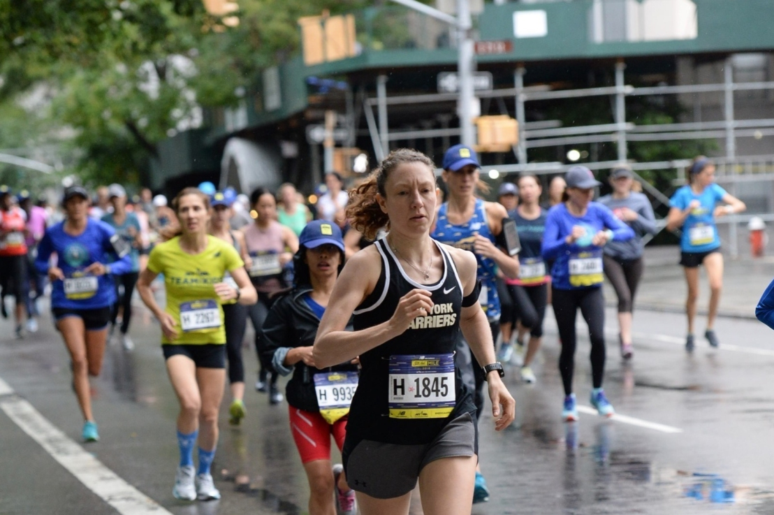 Let's Go Crazy: 5th Avenue Mile Race Recap
