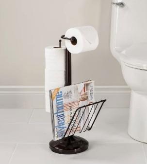 toilet caddy