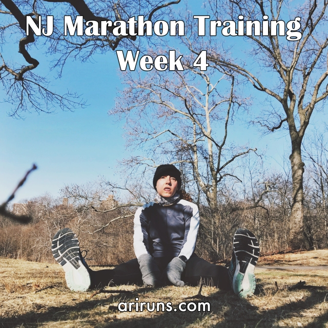IMG_2024 NJ Marathon Training Week 4