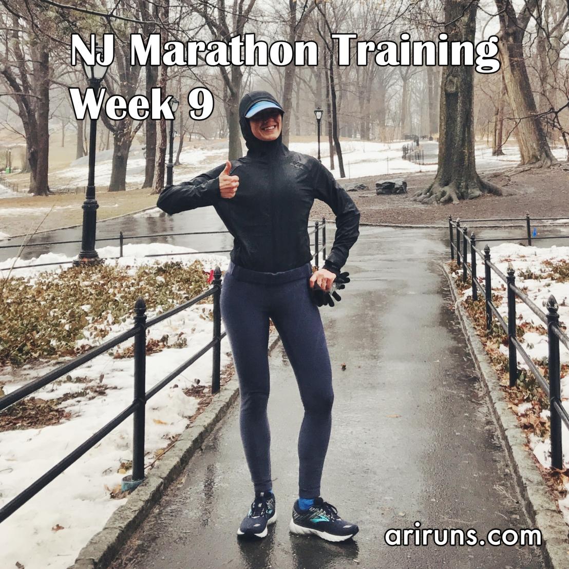 IMG_3262 NJ Marathon Training Week 9