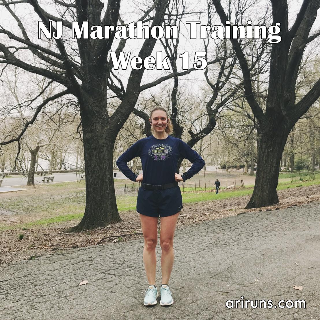 IMG_5089 NJ Marathon Training Week 15