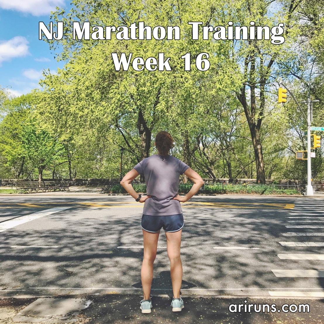 IMG_5350 NJ Marathon Training Week 16
