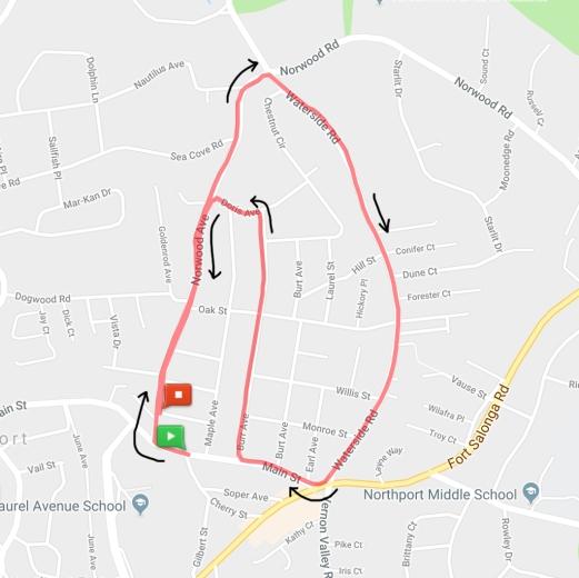 2019RFTHOI5K course map