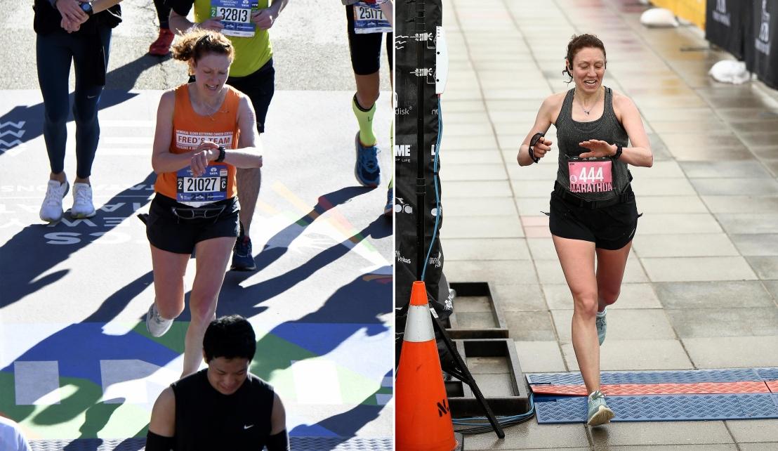 Marathon Finish Line Comparison