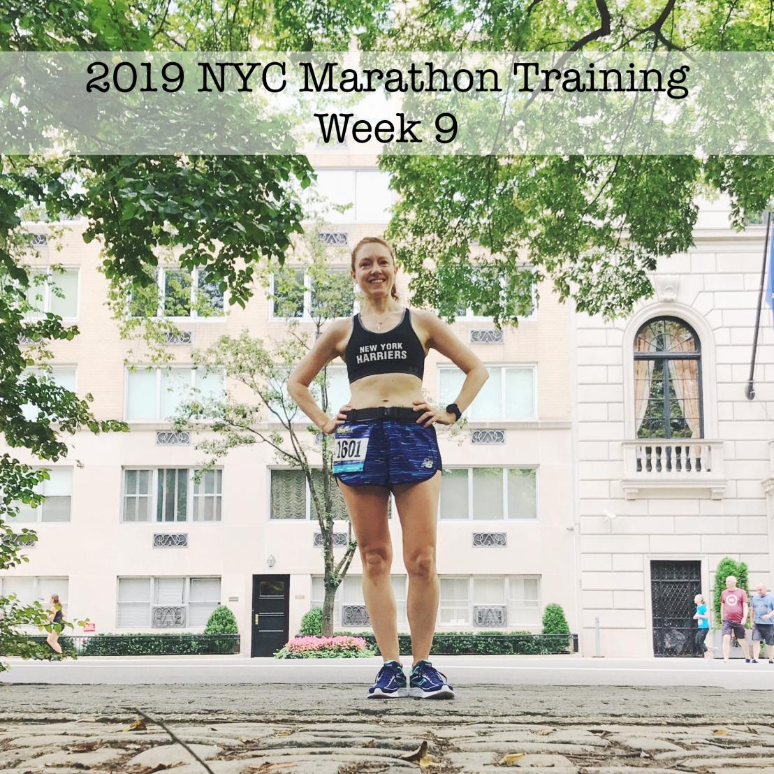 IMG_1043 2019 NYC Marathon Training Week 9