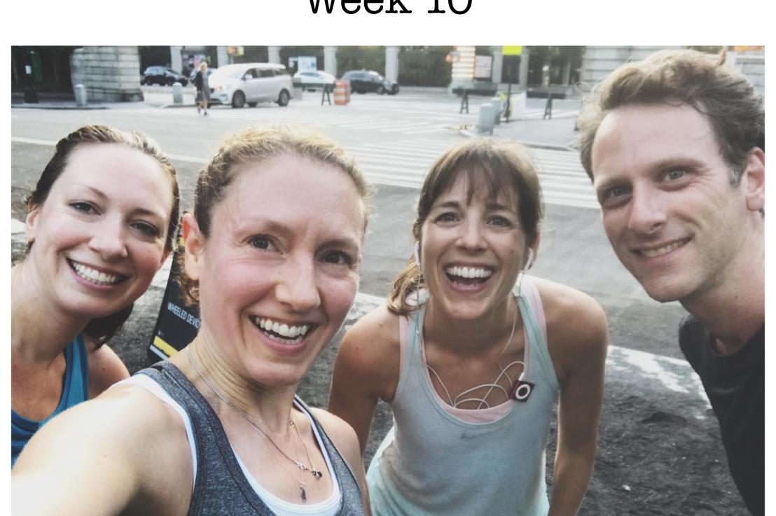 2019 NYC Marathon Training: Weeks 10-12 of17