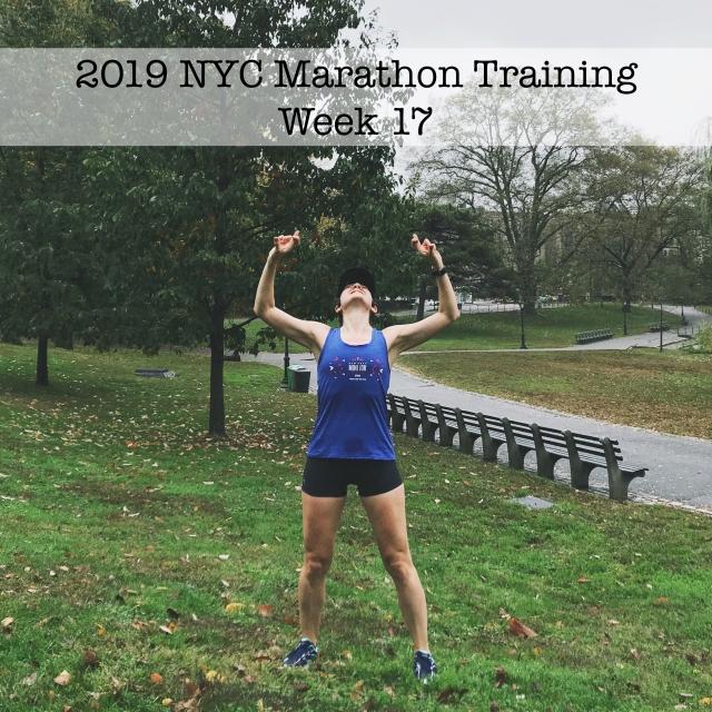 IMG_1500 2019 NYC Marathon Training Week 17