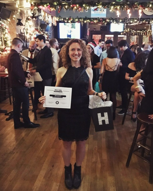 IMG_2506 Harriers Holiday party 2019 age group award